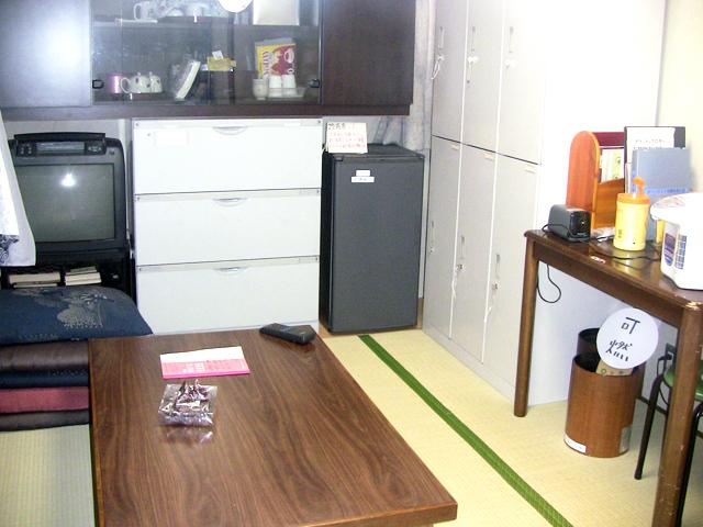 ボランティア控室