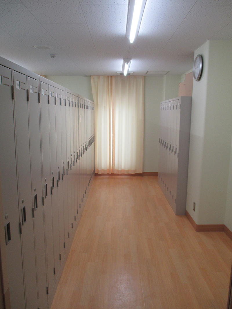 2階更衣室